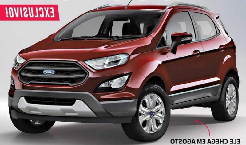 new ford ecosport 2017 rendering 2 india car news. Black Bedroom Furniture Sets. Home Design Ideas