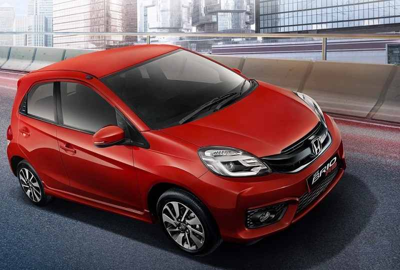 New Honda Brio 2016 facelift front