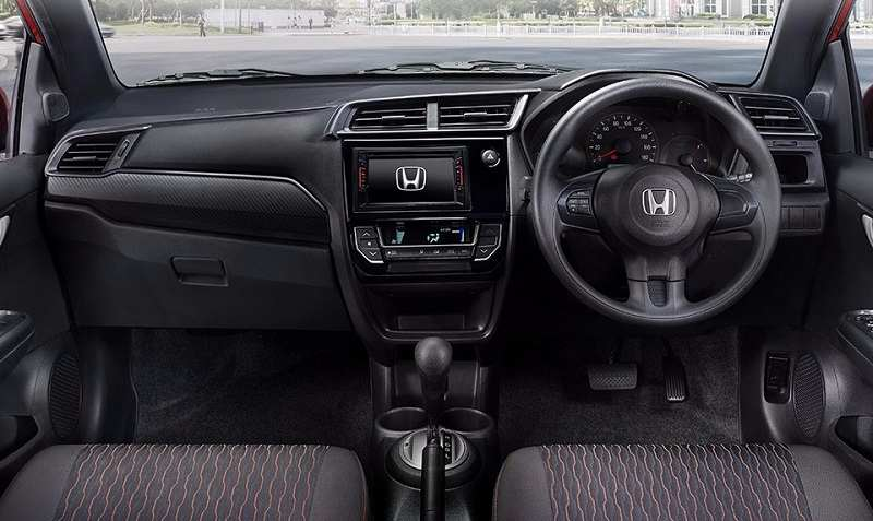 New Honda Brio 2016 facelift interior