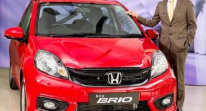 New Honda Brio facelift