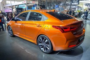 New Hyundai Verna 2017 rear side
