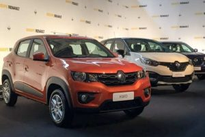 Renault Kwid 1000cc front