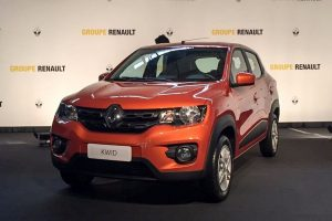 Renault Kwid 1000cc price in India