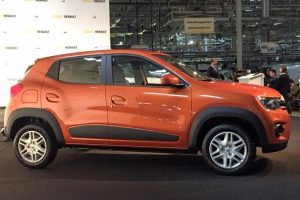Renault Kwid 1000cc side profile