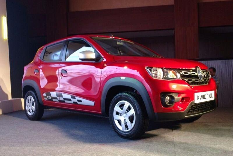 Renault Kwid 1L front