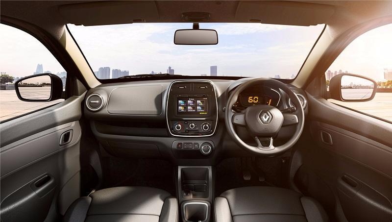 Renault Kwid AMT Interior