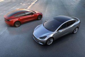 Tesla Model 3 India model