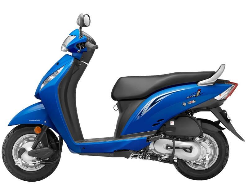 New Honda Activa i 2016 blue