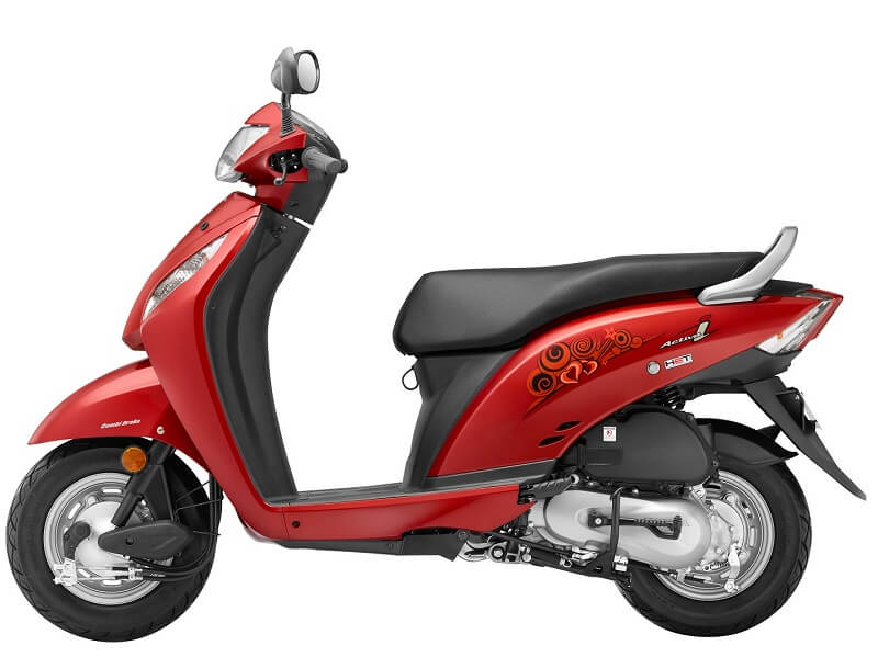 New Honda Activa i 2016 new red colour