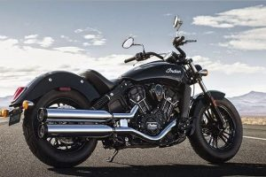 2016 Indian Scout Sixty India in black