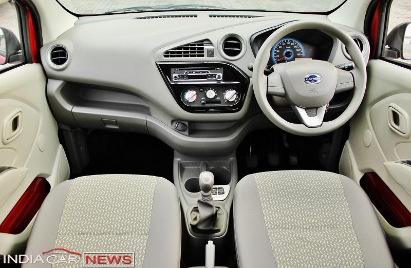 Datsun redi GO Review interior
