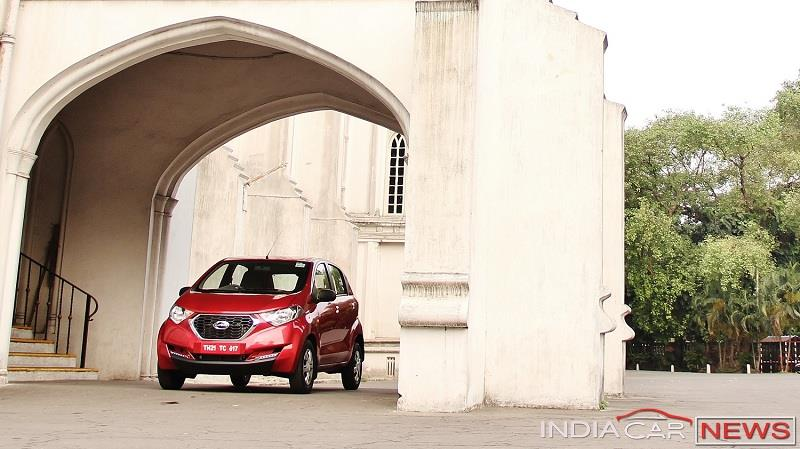 Datsun redi GO Review front profile