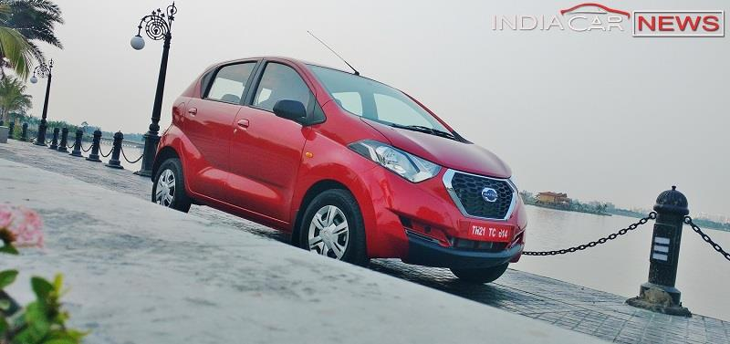 Datsun redi GO Review side view