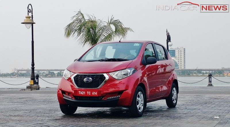 Datsun redi GO Review front view