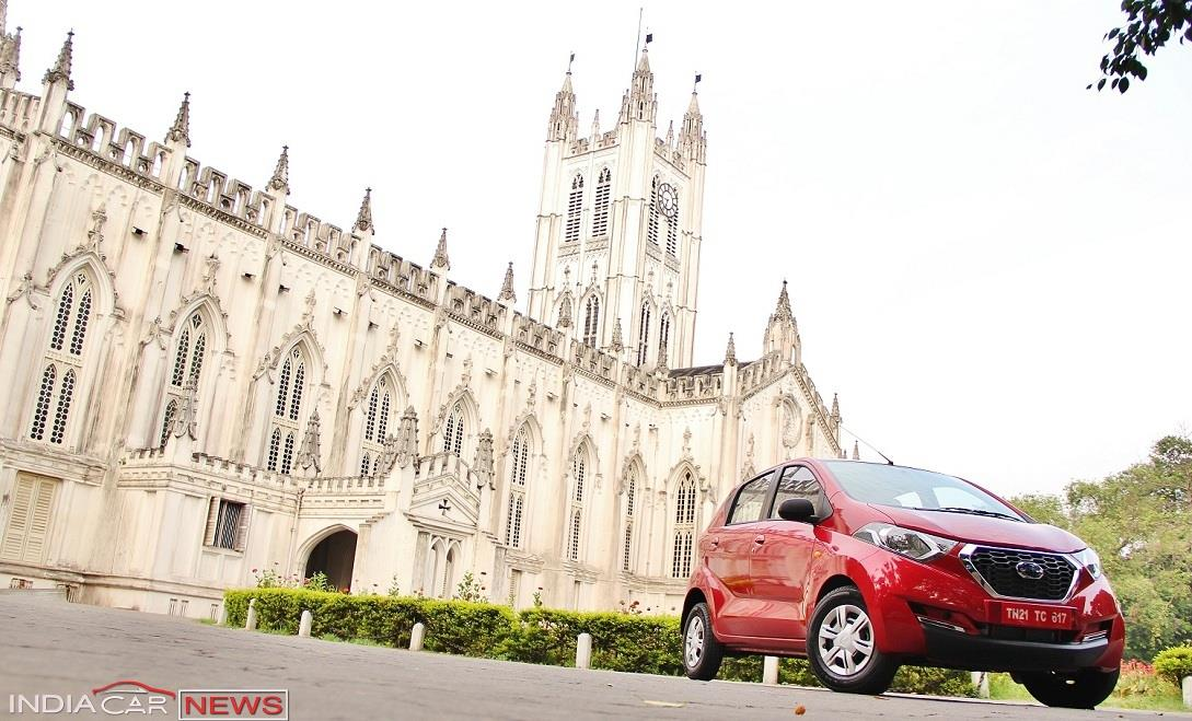 Datsun redi GO Review front