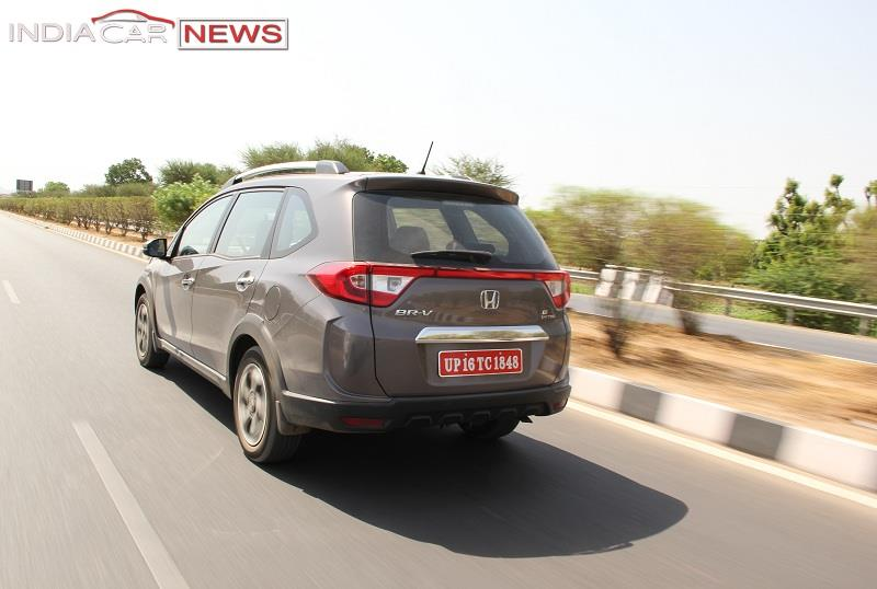 Honda BRV India Review engine