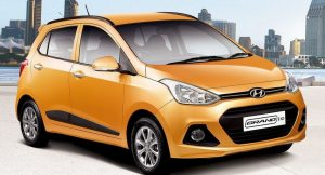 Hyundai Grand i10 Automatic front