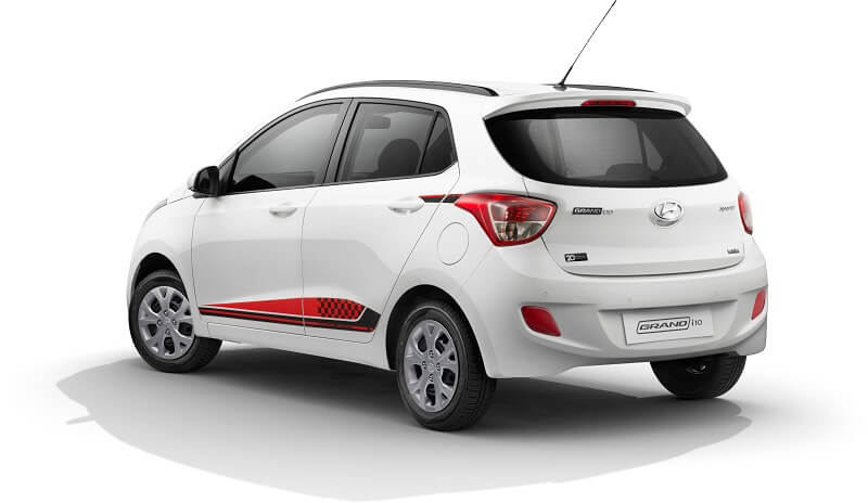 Hyundai Grand i10 Special Edition rear