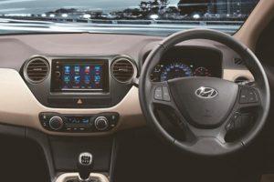 Hyundai Xcent Anniversay Edition interior