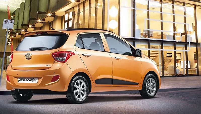 Hyundai Grand i10 Automatic rear