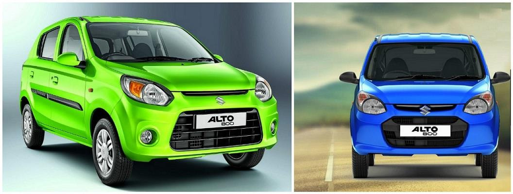 Maruti Alto 800 New Vs Old Model comparison