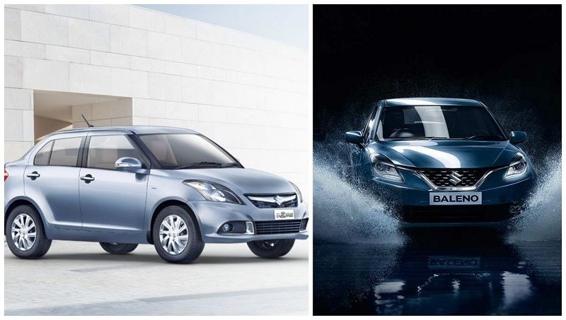 Maruti Baleno and Swift Dzire recalled in India