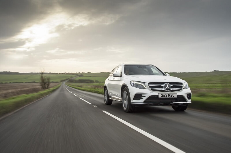 Mercedes GLC front
