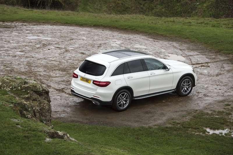 Mercedes GLC rear side