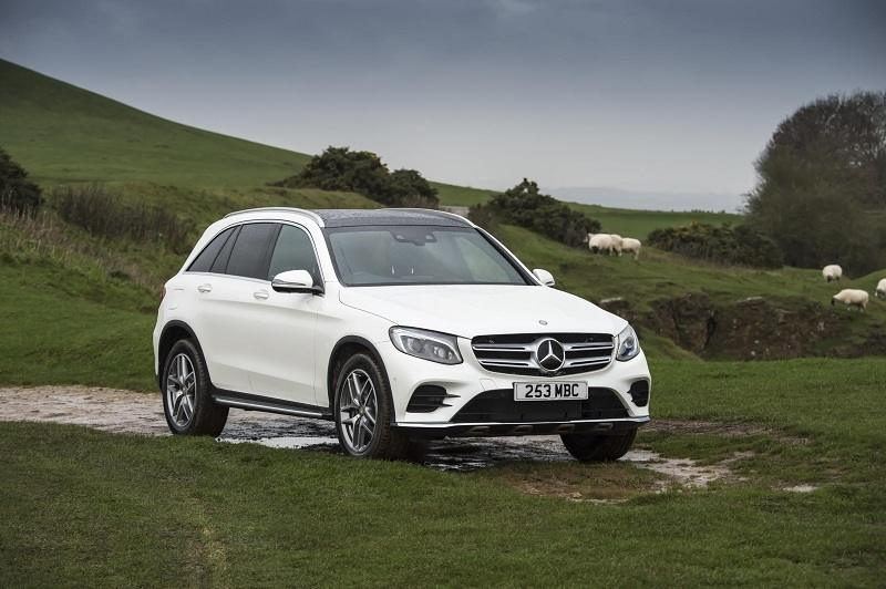 Mercedes GLC front profile