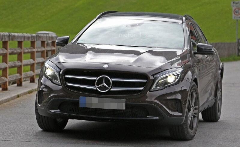 Mercedes GLB Front fascia