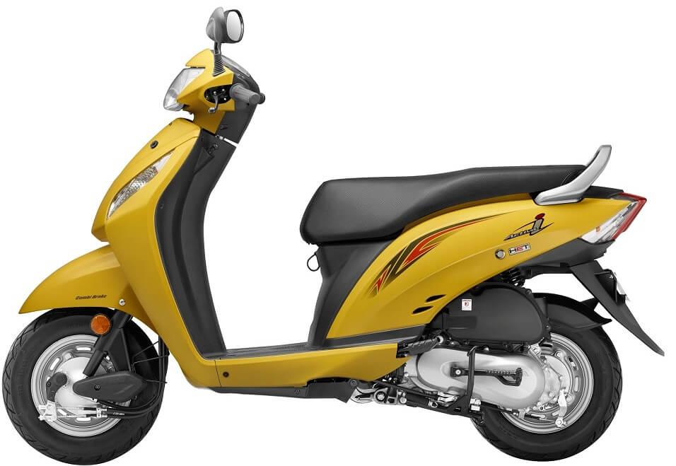 New Honda Activa i 2016