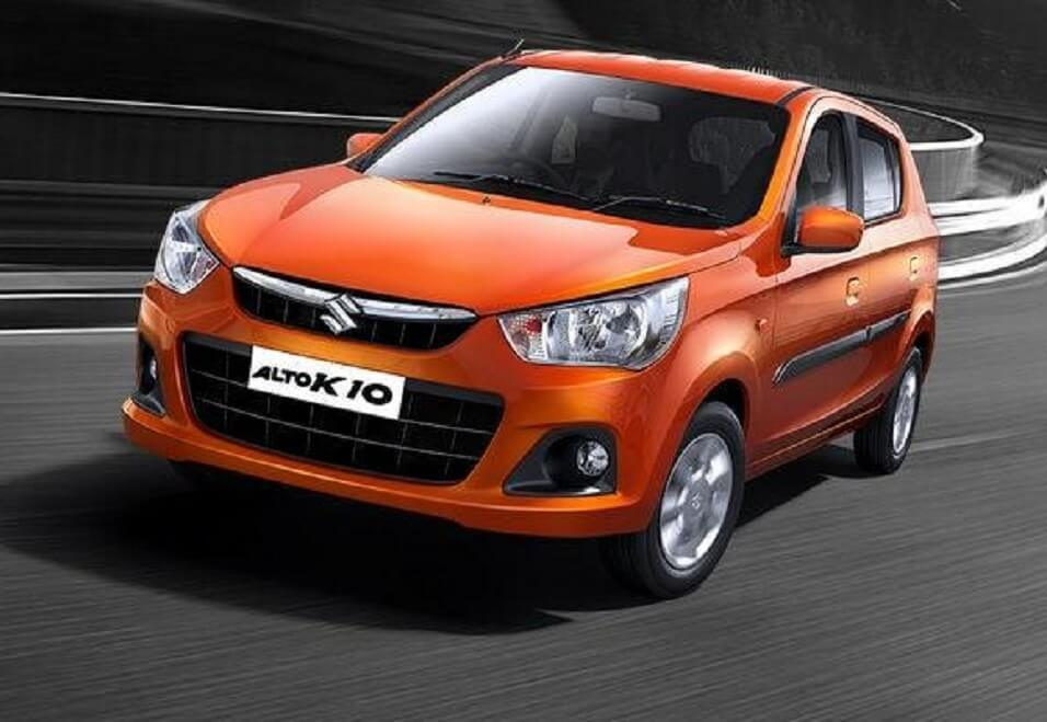 New Maruti Alto K10 2016 front