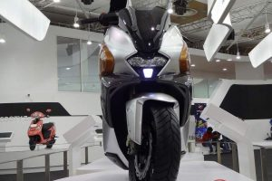 TVS EnTorq 125cc front profile