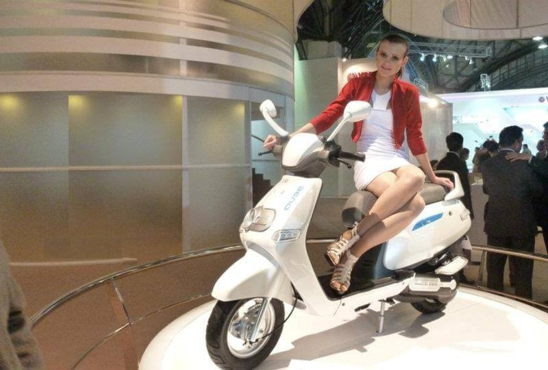 TVS IQube Hybrid Scooter concept
