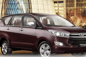 Toyota Innova Crysta Petrol side profile