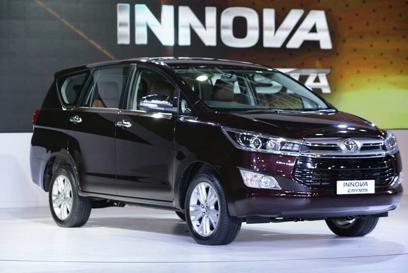 Toyota Innova Crysta Petrol Price Range Specifications