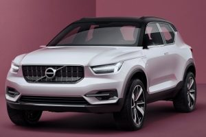 Volvo 40.1 Concept front