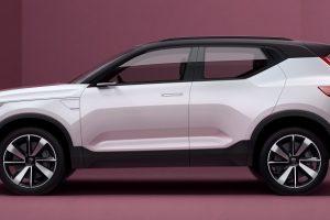 Volvo 40.1 Concept side profile