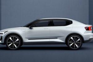 Volvo 40.2 Concept side profile