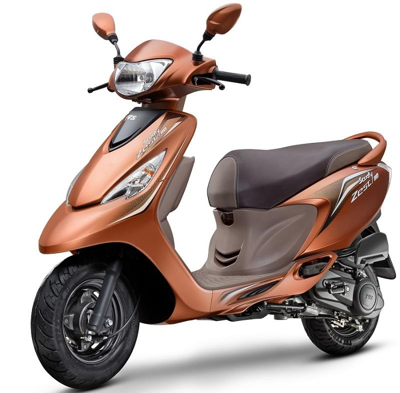 TVS Scooty Zest 110 Himalayan Highs