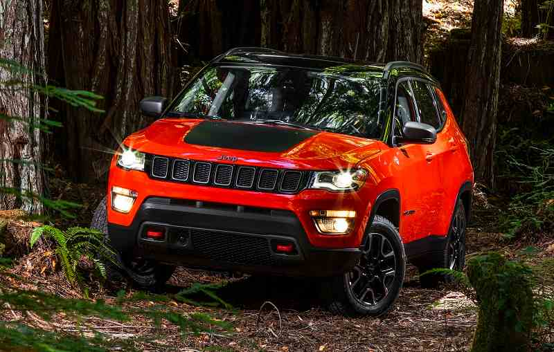 2017 Jeep Compass Front