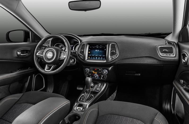2017 Jeep Compass Interior Revealed