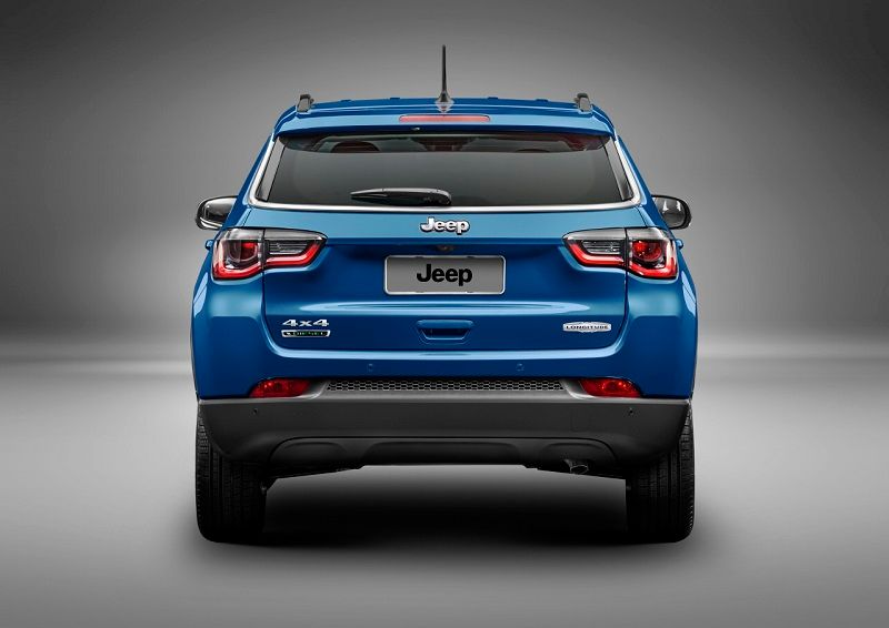 2017 Jeep Compass Rear Reveal