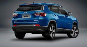2017 Jeep Compass Rear Three Quarter Revealed