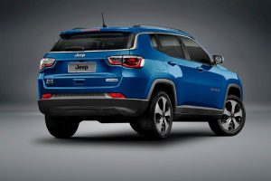2017 Jeep Compass Rear Three Quarter Revealed