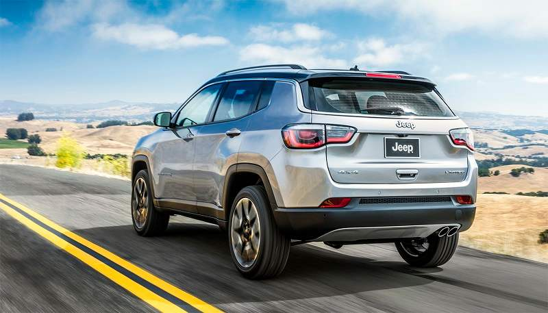 2017 Jeep Compass Rear
