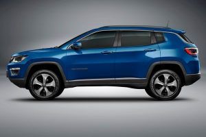 2017 Jeep Compass side reveal