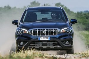 Maruti S Cross 2017 new front fascia