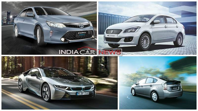 5 Best Hybrid/Electric Cars in India 2016