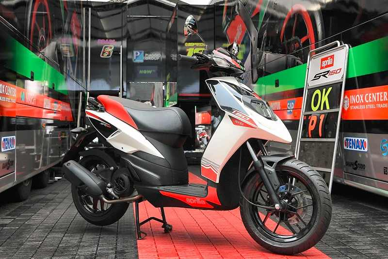 Aprilia SR 150 price in India